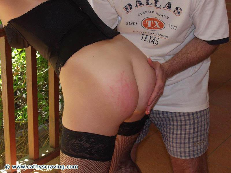 Forced white mature wife