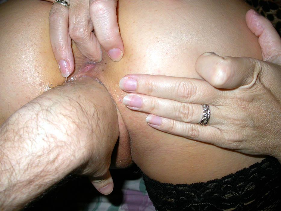 Mom dildo action