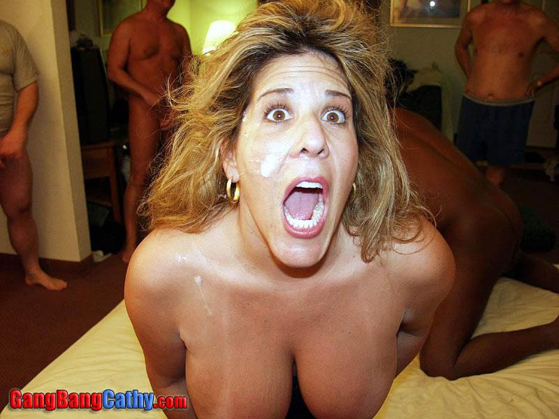Gangbang and creampie cathy friend